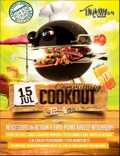Cookout Flyer - 7-15-17