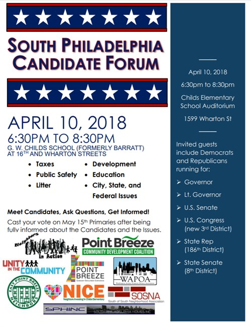 South Philadelphia Candidate Forum