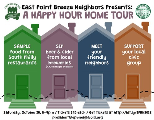 Happy Hour Home Tour 2018 Flyer